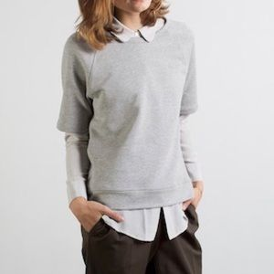 Everlane Short Sleeve Sweatshirt Size L